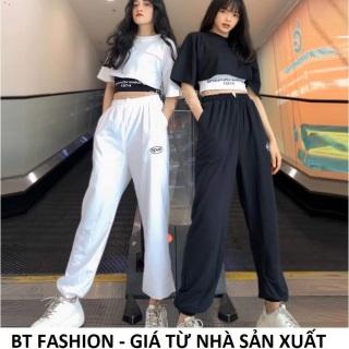 Set Bộ Quần Thể Thao Jogger + Áo Thun Cặp (SPUN 02) - Thời Trang Hot BT Fashion - Hình thật, Video thumbnail