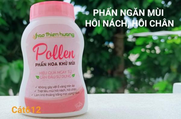 Phấn Pollen - Đặc trị hôi nách, hôi chân (dạng chai, mẫu mới) giá rẻ