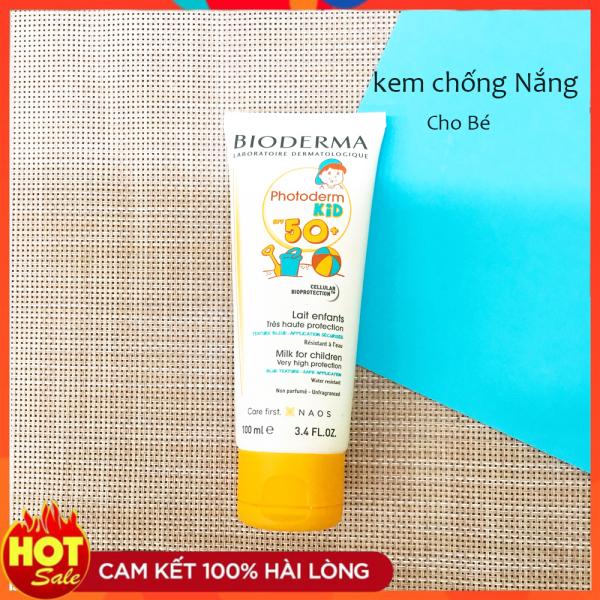 Kem Chống Nắng Cho Bé - Bảo vệ tối đa làn da mỏng manh và nhạy cảm, thích hợp cho cả mặt và cơ thể.