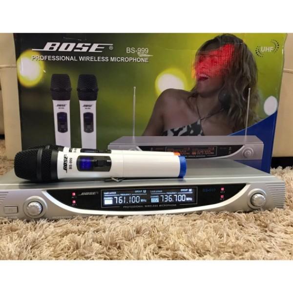 Micro Karaoke Không Dây Bs 999 Cho Gia Đình