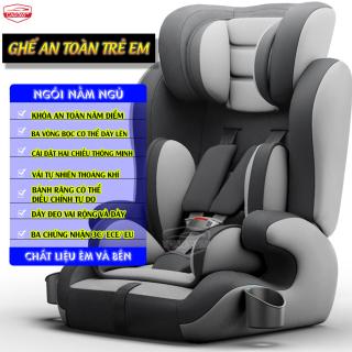 Ghế ô tô cho bé CAR365 an toàn tiện lợi, dây đai chắc chắn, chất liệu thoáng khí tương thích mọi loại xe, có thể điều chỉnh góc độ, đai an toàn, có tay cầm giữ bình sữa bình nước cho bé tiện lợi, bảo hành 12 tháng - CAR26 thumbnail