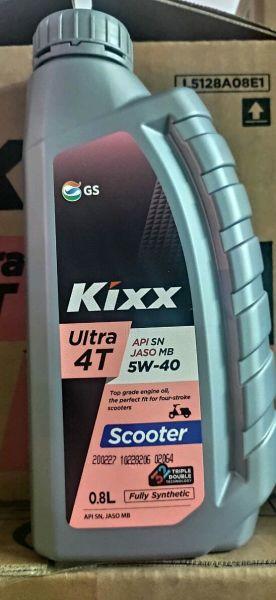 NHỚT KIXX SCOOTER 5W40-800ML