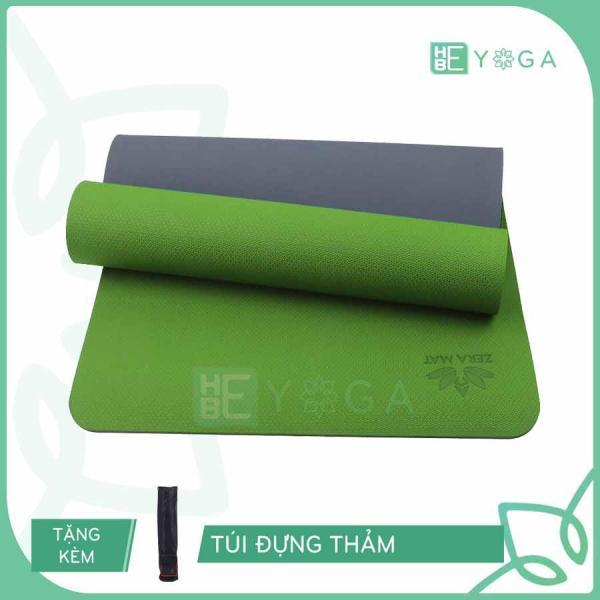 Thảm Tập Yoga Zera Mat 8mm 2 Lớp Tặng Kèm Túi
