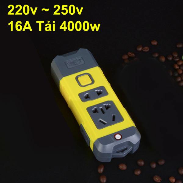 Bảng giá ổ cắm điện chịu tải cao 16A 4000W Chân cắm đồng, Có nút nguồn 868
