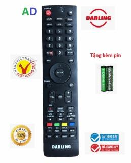 Điều khiển tivi DARLING có nút Youtube mé bên trái - Tặng Kèm Pin - Remote DARLING - Remote từ xa tivi Darling loại tốt thay thế khiển zin theo máy - Bảo Hành 3 tháng thumbnail