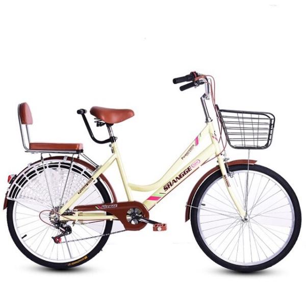 Phân phối Xe đạp nữ 24 icnh rất tiện đưa đón con đi học , đi chợ, đi chơi...
