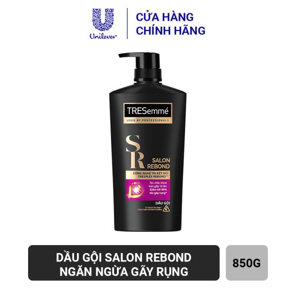 Dầu Gội Tresemmé Salon Rebond Công Nghệ Tái Kết Nối Ngăn Ngừa Gãy Rụng 850gr cao cấp