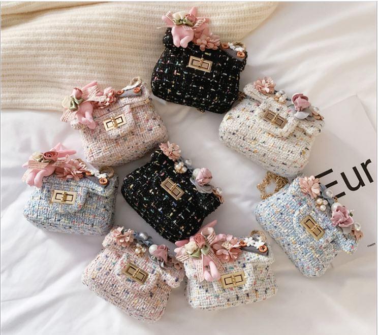 Giá bán Túi xách cho bé gái dây đeo chéo siêu dễ thương 8 MẪU LỰA CHỌN hot trend 2020 cute baby girl handbags TXB001 trangtridcor