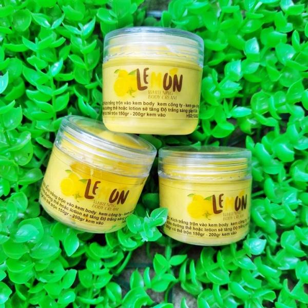 Combo 2 Kem ủ kích trắng Lemon Chanh trắng gấp 6 lần nhập khẩu