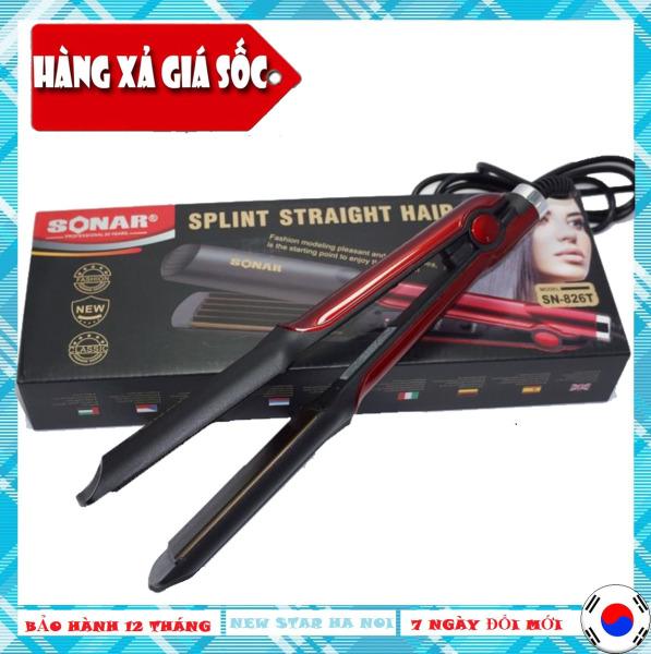 Máy ép tóc kemei KM-329 và máy ép tóc Sonar SN-826, máy ép tóc giá rẻ , máy ép tóc mini 3 trong 1 siêu thẳng, máy là tóc làm tóc duỗi tóc kemei chất lượng cao, nhiệt độ nóng nhanh - Bảo Hành 12 Tháng