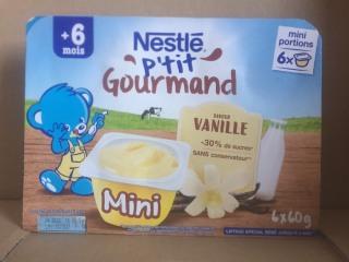 Váng sữa Nestle 6 60g-vani gourmand trẻ từ 6 tháng thumbnail