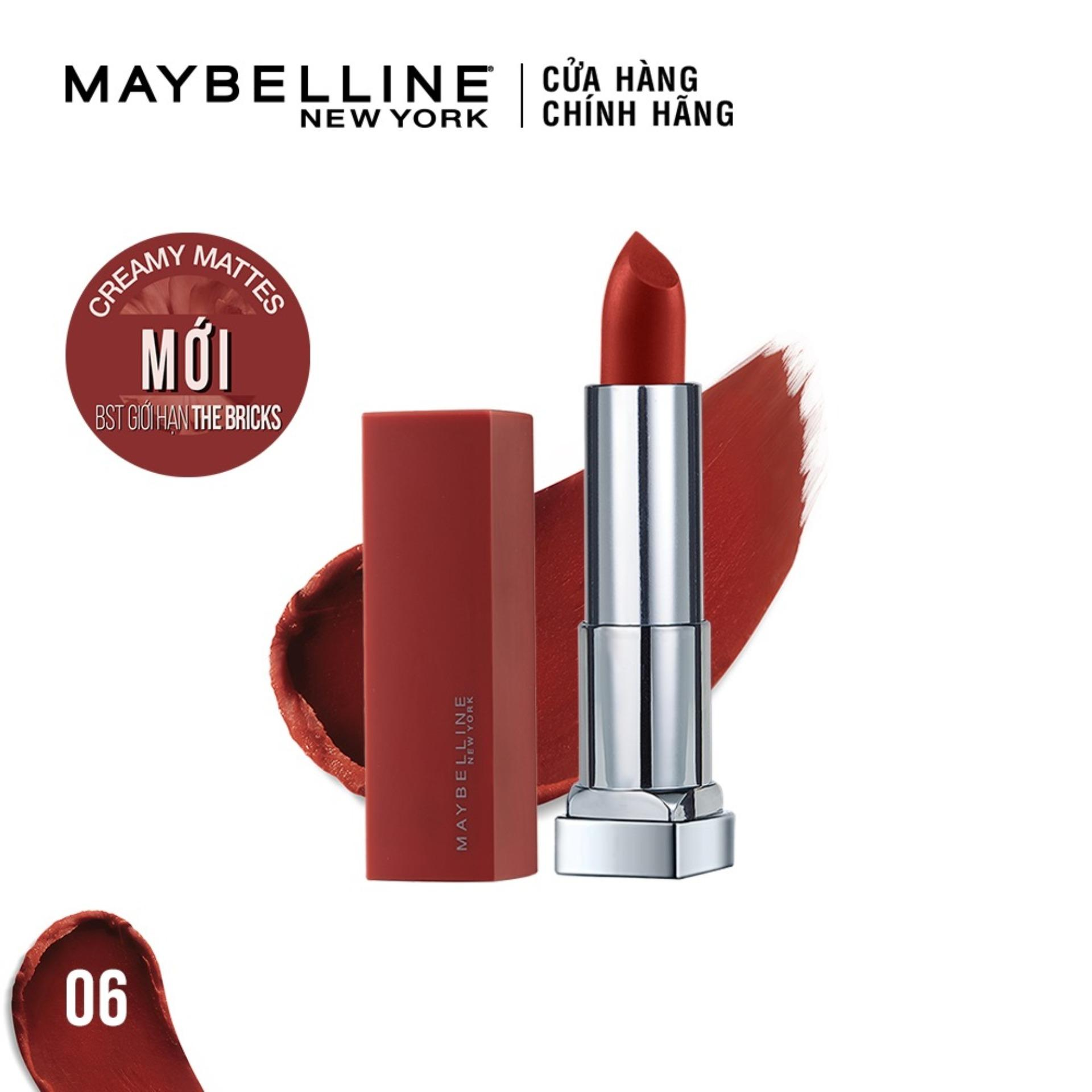 Son lì mịn môi Maybelline New York Colorsensation City Heat 3.9g