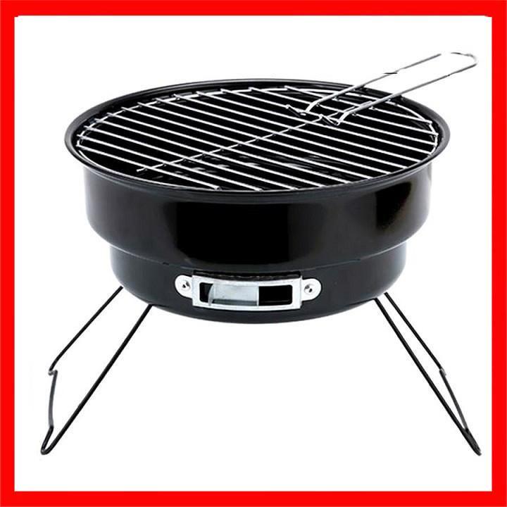 Bếp nướng than hoa cao cấp Grill BBQ có cửa thông điều chỉnh độ nóng