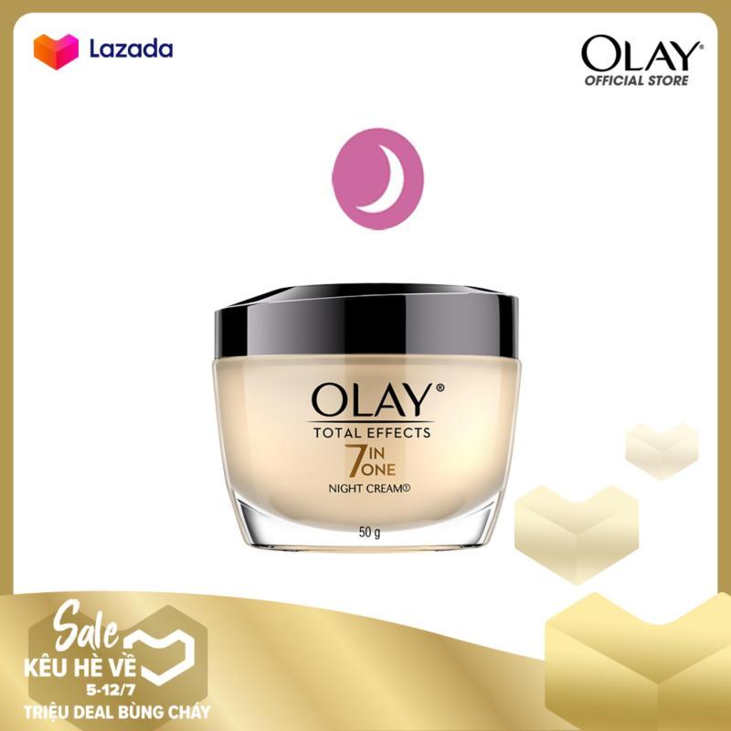 Kem dưỡng ban đêm Olay Total Effect Night Cream 50g nhập khẩu