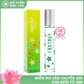 Nước hoa nữ, nước hoa Fantasy Sài Gòn 18ml hương thơm nhẹ nhàng quyến rũ - Mỹ phẩm Mộc Lan thumbnail