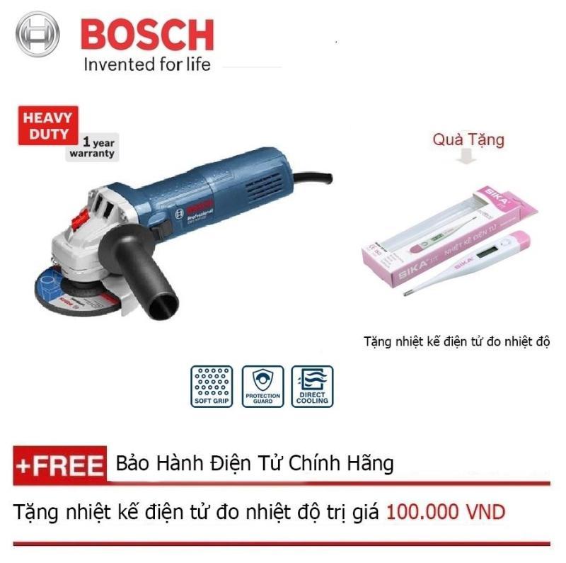 Máy mài góc Bosch GWS 7-100T + Quà tặng nhiệt kế điện tử
