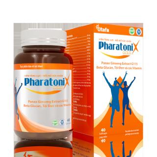 [HCM]Viên Tăng lực Bồi bổ sức khỏe Nhân sâm Tỏi đen PharatoniX Gold Lọ 40v - CTCP TITAFA VIỆT NAM thumbnail