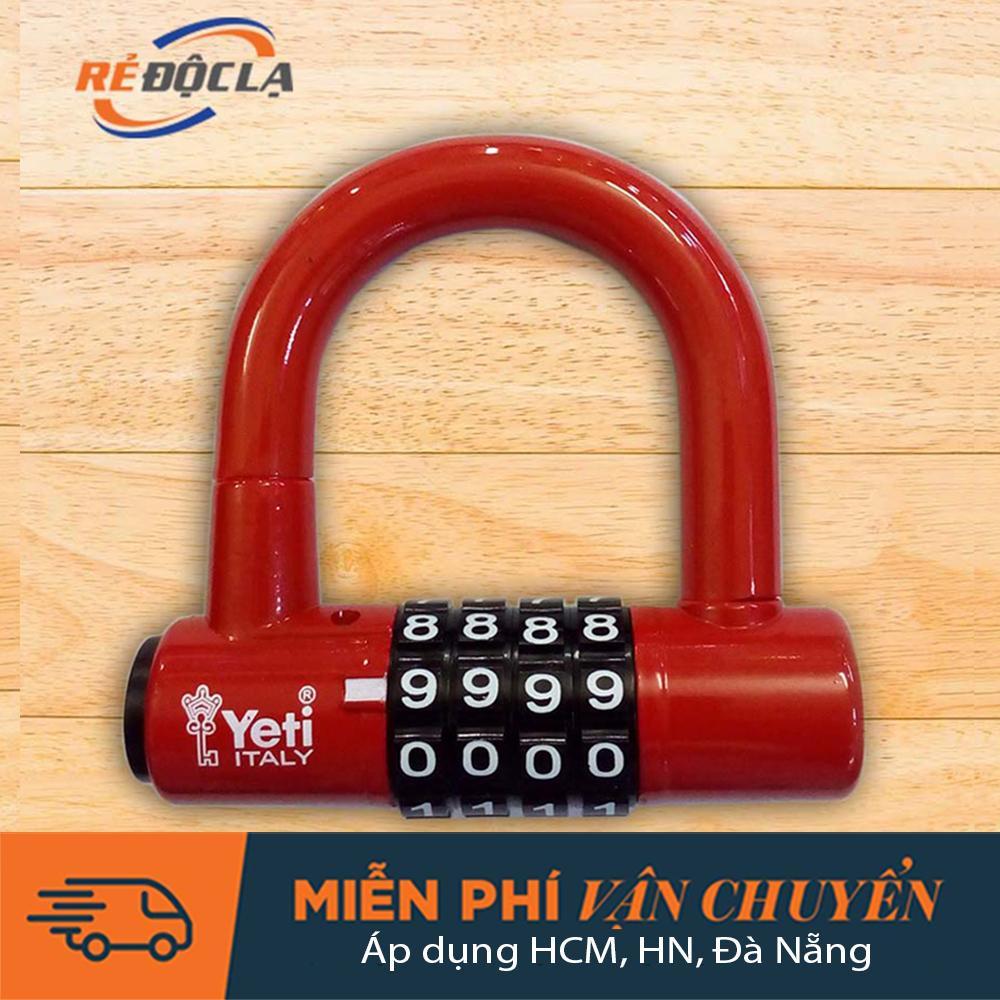 Ổ Khóa số chữ U, khóa mật mã, khóa cao cấp, khóa chống trộm, khóa cửa cổng, khóa nhà YETI L-701 ( Màu ngẫu nhiên )