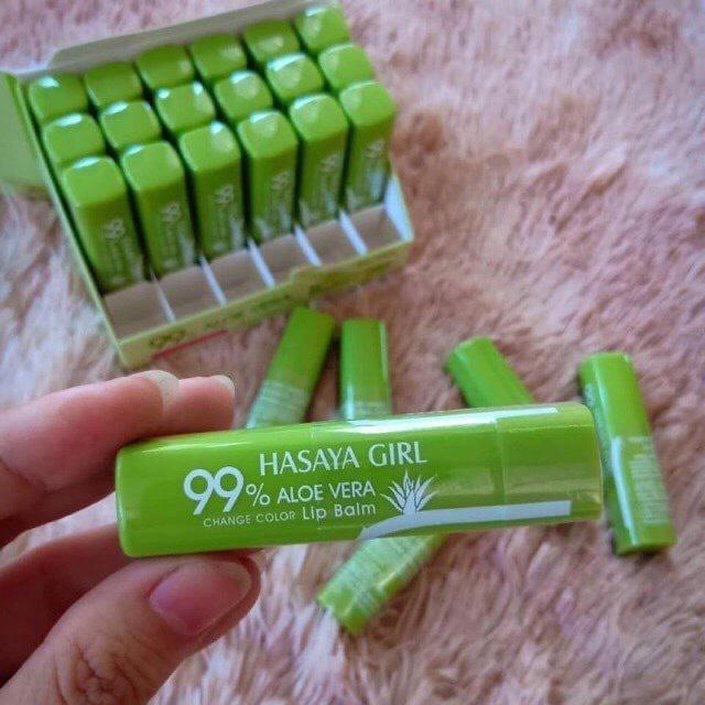 Son dưỡng nha đam Hasaya Girl cho môi căng mọng cao cấp