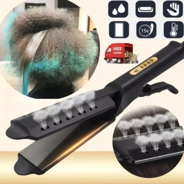 Máy duỗi tóc, bấm tóc, làm xoăn tóc đa năng, có nút điều chỉnh nhiệt độ tiện lợi cao cấp