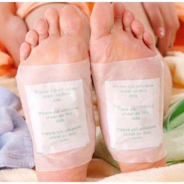 Combo 5 cặp miếng dán chân khử độc tố OEM hàng nội địa Trung cao cấp