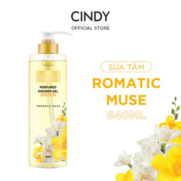 Sữa Tắm Nước Hoa Cindy Bloom Romantic Muse 640g - Quyến Rũ