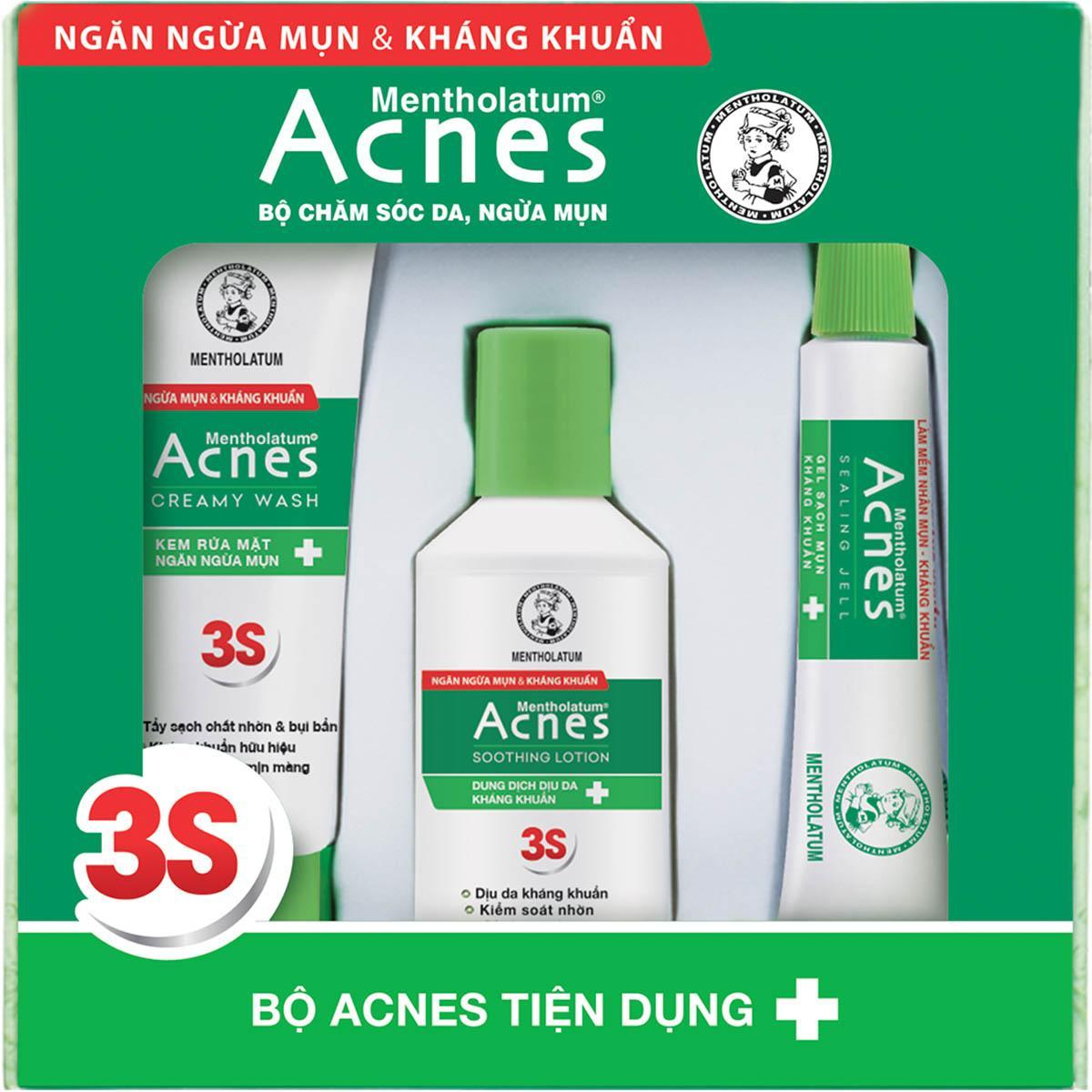 Bộ sản phẩm Acnes Tiện Dụng – Acnes Trial Set