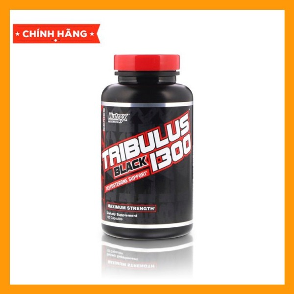 Viên Uống Bổ Sung Hỗ Trợ Tăng Testosteron Xây Dựng Cơ Bắp - Nutrex Tribulus Black 1300 120 Viên