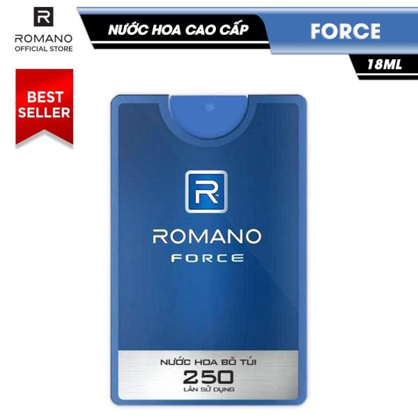Nước hoa cao cấp Romano Force 18ml