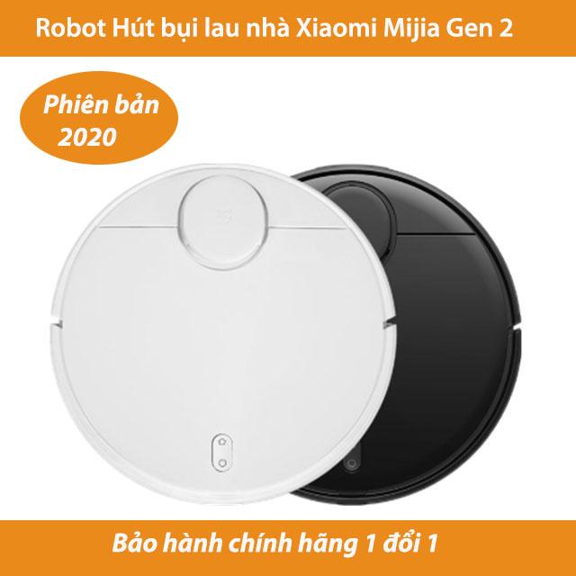 Robot hút bụi lau nhà Xiaomi Mijia Gen 2 phiên bản 2020