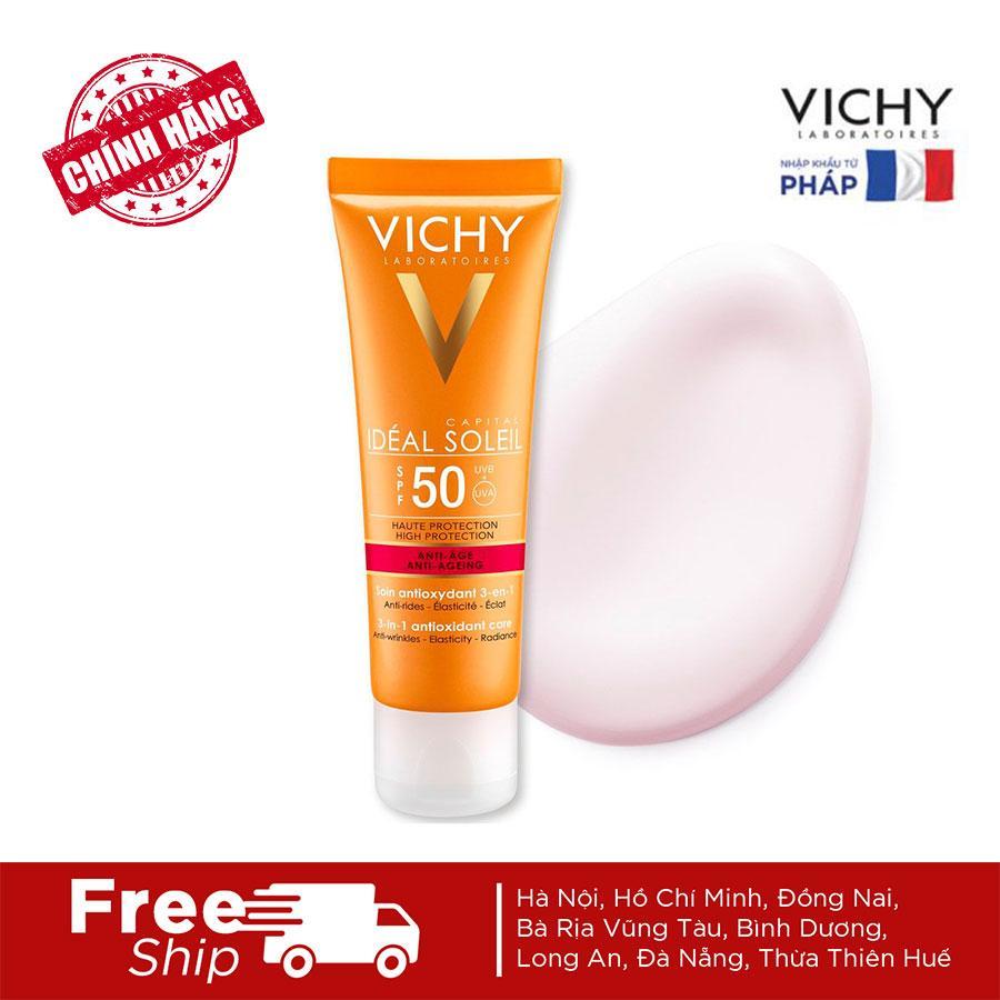 Kem Chống Nắng Chống Lão Hoá Vichy Ideal Soleil Anti Age SPF50+ Giá Tốt Nhất Thị Trường