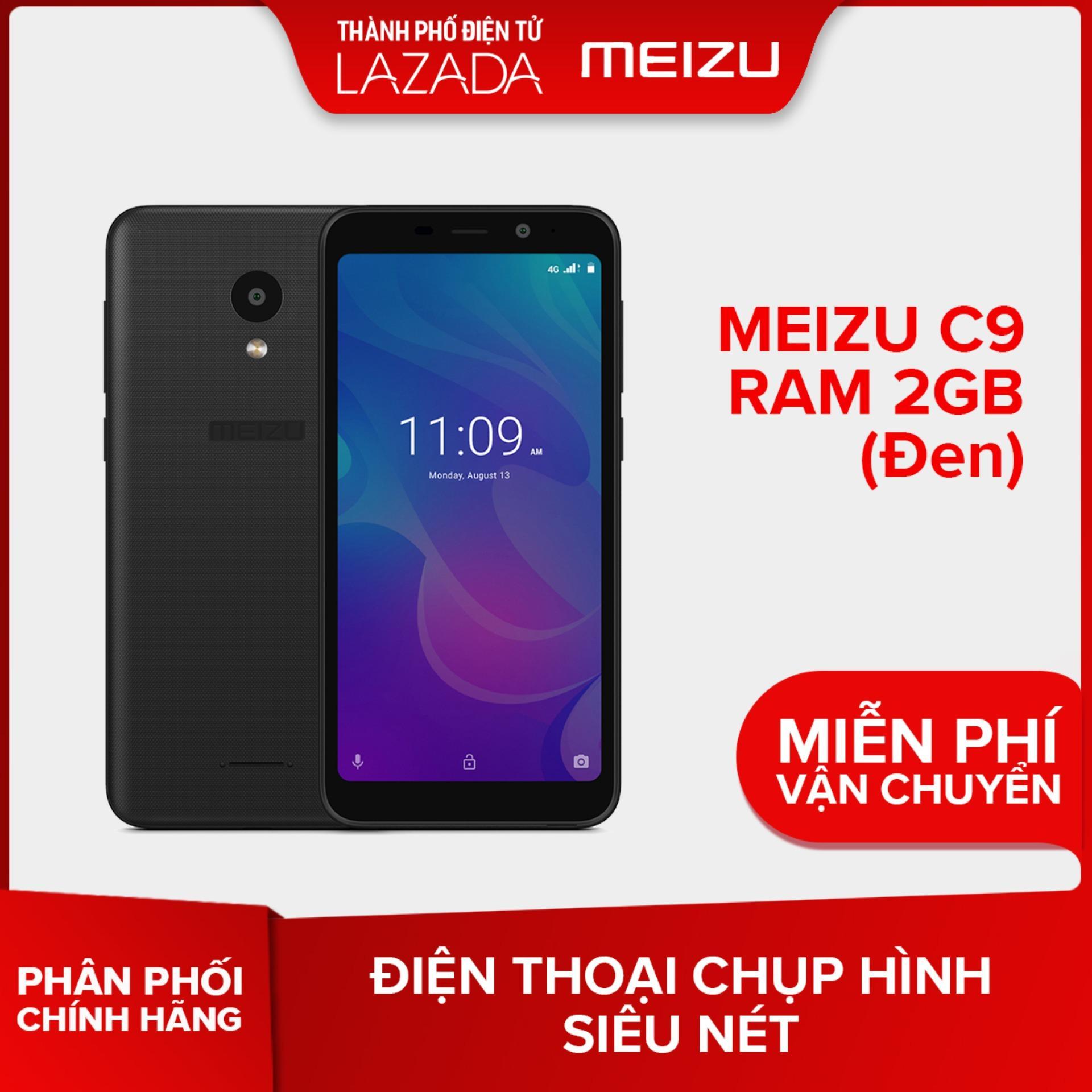 Meizu C9 Ram 2GB (Đen/Xanh) - Hãng phân phối chính thức