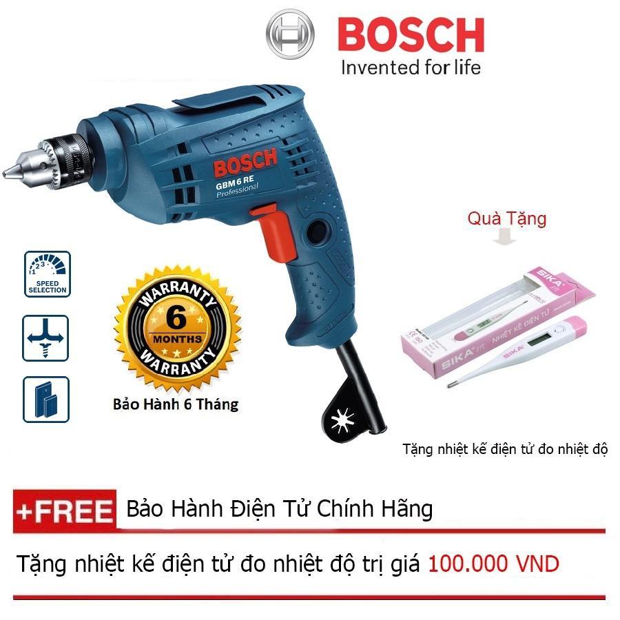 Máy khoan xoay Bosch GBM 6 RE Professional + Quà tặng nhiệt kế điện tử