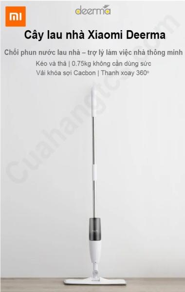 Cây lau nhà thông minh 2 in 1 Xiaomi Deerma TB500 TB800 thiết kế nhỏ gọn linh hoạt vệ sinh vừa lau vừa phun sương cực kỳ tiện lợi