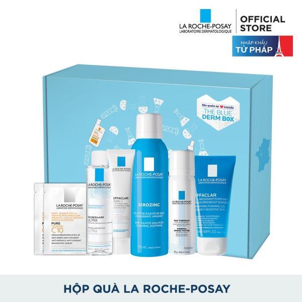 Bộ sản phẩm chăm sóc da dầu da mụn toàn diện La Roche-Posay Effaclar Box tốt nhất