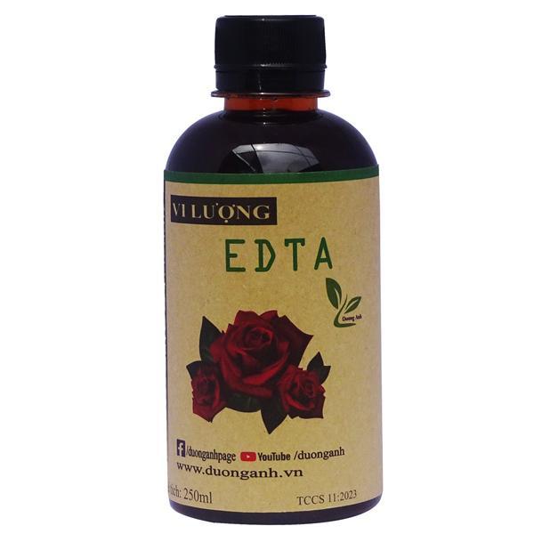 Phân bón hữu cơ bổ sung Vi lượng cho hoa hồng EDTA