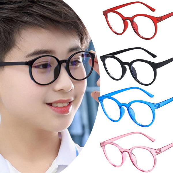 Giá bán WEI5022 Trong Súc Khóa Tròn Chống Đèn Xanh Lam, Em Gương Phẳng Kính Đeo Mắt Trẻ Em Kính Bảo Hộ