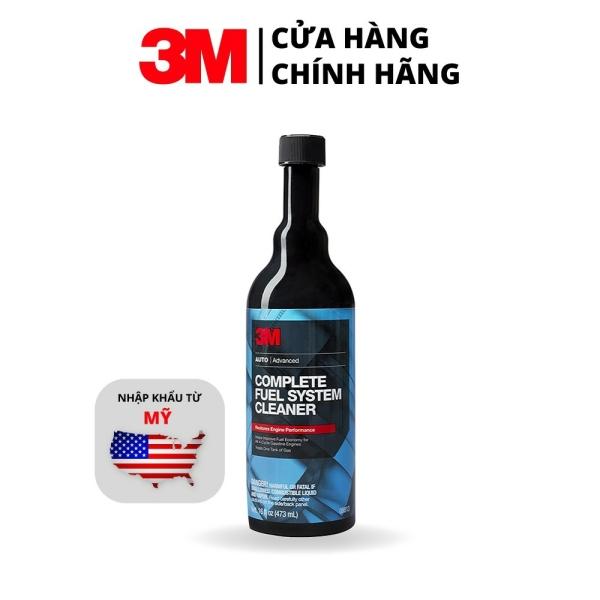 Dung Dịch Súc Béc Xăng Ô Tô 3M-COMPLETE FUEL SYSTEM CLEANER 473ml