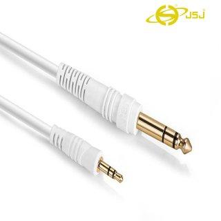 Dây tín hiệu đầu 3 ly (3.5mm) ra 6 ly (6.5mm) JSJ 512 dài 1m - 3m bên ngoài phủ lớp bảo vệ nhựa PVC đầu nối gia công mạ vàng lõi đồng nguyên chất không oxy hóa giúp truyền dẫn tín hiệu mượt mà ổn định và chống nhiễu thumbnail