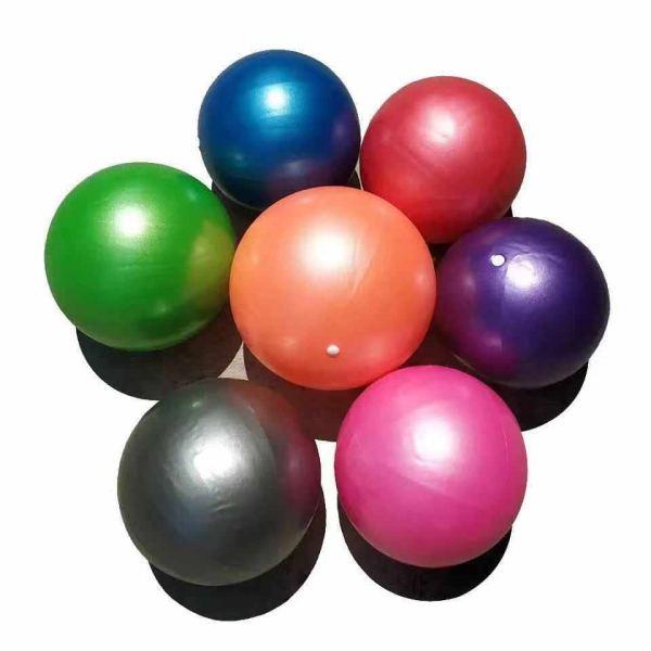 Bóng tập yoga cao cấp - Bóng tập yoga trơn loại nhỏ 25cm chống nổ - Dụng cụ tập yoga 8 màu khác nhau thỏa sức lựa chọn Hùng Yến Sport