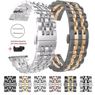 Đồng hồ Galaxy Amazift bằng kim loại thép không gỉ dây đeo dạng bánh răng - INTL thumbnail