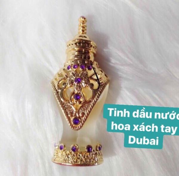 Nước hoa tinh dầu chính hãng Dubai (có hộp) lưu hương cả ngày tốt nhất