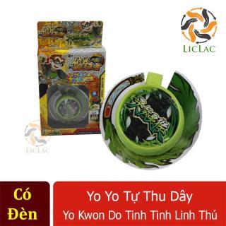 Yoyo tự thu dây Yo Kwon Do Tinh Tinh Linh Thú ( Có Đèn ) - Đồ chơi yoyo tự thu dây cho bé tập chơi - LICLAC thumbnail