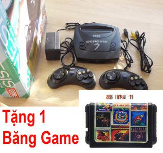 Máy chơi game 6 nút Sega Ganesis (16 Bit) + Tặng kèm 1 băng game Rồng đen 8 in 1 thumbnail