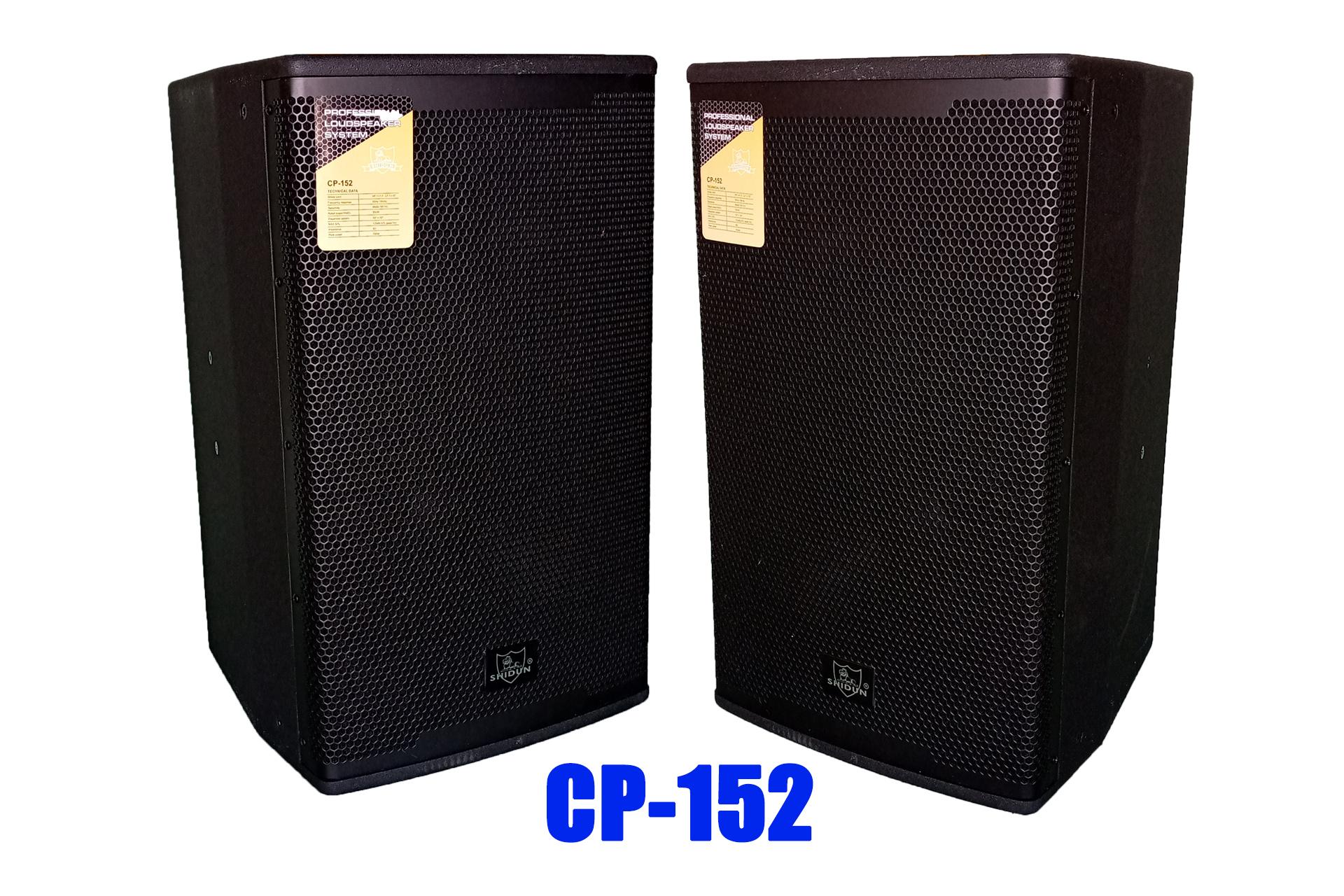 Loa SHIDUN 4 tấc nhập khẩu chính hãng China, loa karaoke gia đình SHIDUN giá rẻ CP-152