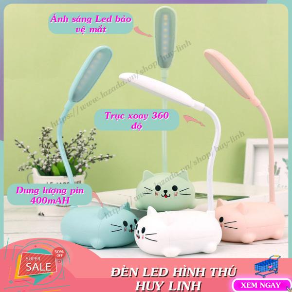 Bảng giá Đèn LED để bàn hình thú dễ thương sạc pin tiện lợi, đồ dùng học tập, đèn chiếu sáng, đèn sạc thông minh, (DLT06), Huy Linh