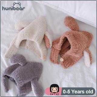 MŨ Trẻ Em Mũ Kẹo Fluffy Hat Dễ Thương Bunny Tai Ấm Boy Girl Hat Cho 0-5yrs