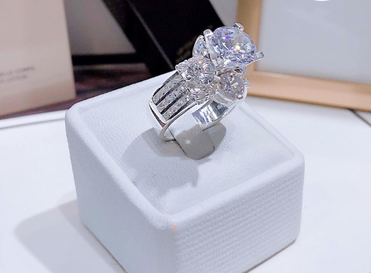 [ Nhẫn Nữ Cao Cấp, Chất Liệu Bên Trong Lõi Bạc Thái Vĩnh Viễn Không Đen ] Givishop - N260562 - Dùng Đi Tiệc Tôn Lên Vẻ Đẹp Của Phụ Nữ, nhẫn đôi bạc đẹp, các mẫu nhẫn bạc, nhan bạc, nhẫn bạc đẹp cho nữ, giá nhẫn bạc nữ, nhẫn đ�