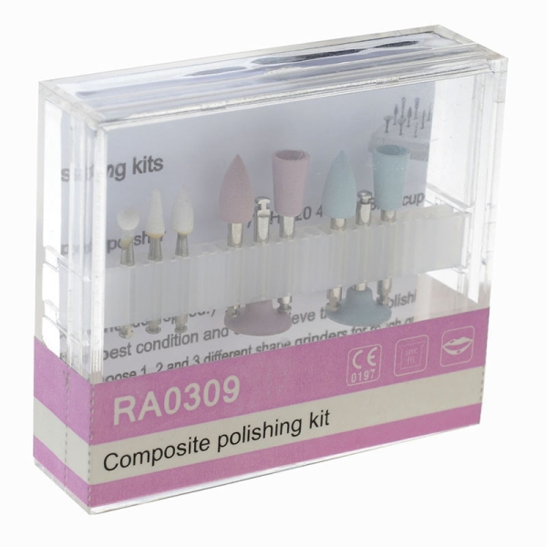 Bảng giá Dental Composite Polishing for Low-Speed Handpiece Contra Angle Kit RA0309 Oral Hygiene Teeth Polishing Kits Điện máy Pico