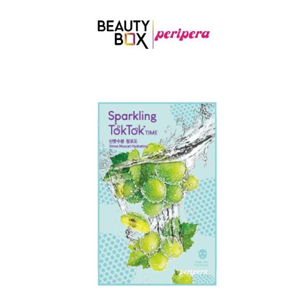 Mặt Nạ Giấy Peripera Sparkling Toktok Time Mask Sheet 18g